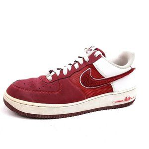 Nike Air Force 1 Mens Size 9 '82 Hyper Red White